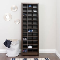 Space-Saving Shoe Storage Cabinet,