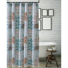Key West Seafoam Shower Curtain by Greenland Home Fashions,