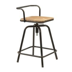 Urban Loft Breakfast Table with 2 Swivel Stools by 4D Concepts,