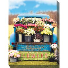 Fresh Flowers Outdoor Wall Art, MULTI