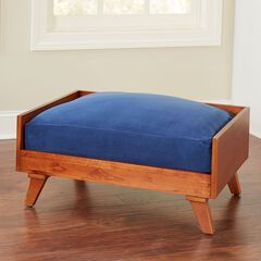Velvet Pet Bed Cushion Cover and Insert,
