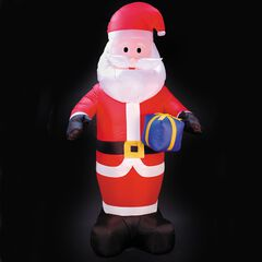 8' Inflatable Lighted Santa,