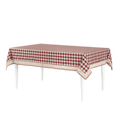 Buffalo Check Tablecloth - 60-in x 84-in,