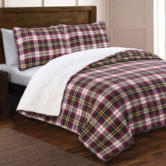 Estate Collection Dakota Flannel Quilt Set,