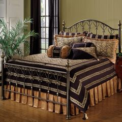King Bed Set with Bed Frame, 83½'Lx78½'Wx57'H,