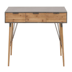 Brown Modern Wood Console Table, 30 x 48,