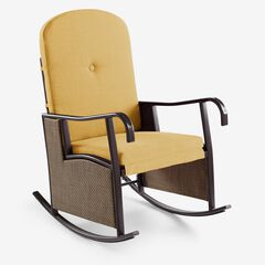 Outdoor Upholstered Rocking Chair,