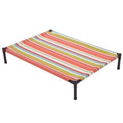 Large Striped Textilene Pet Bed ,