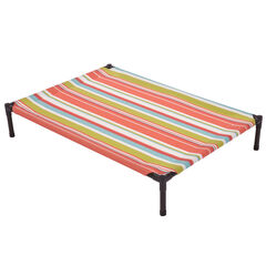 Small Striped Textilene Pet Bed,