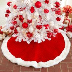 Santa Style Tree Skirt ,