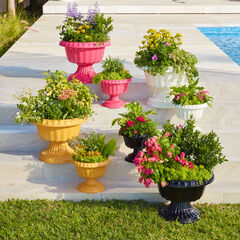 Set of 2 Planters, PINK