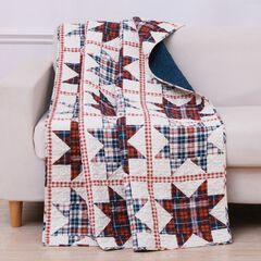 Greenland Home Liberty Quilted Throw Blanket,
