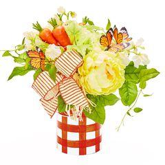 Carrot Patch Tabletop Arrangement,