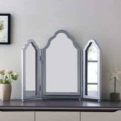 Archlyn Tri-fold Vanity Mirror,