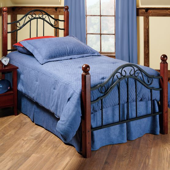 Twin Bed with Bed Frame, 76'Lx40¼'Wx50½'H,
