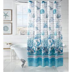 Caribbean Joe 14-Pc. Shower Curtain Sets, SEA