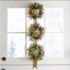 Hanging Wreath Trio,