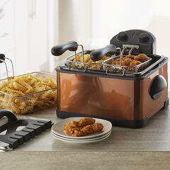 Triple Basket Deep Fryer,