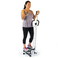 Hometrack™ Fitness Stepper with Stretch Bands,
