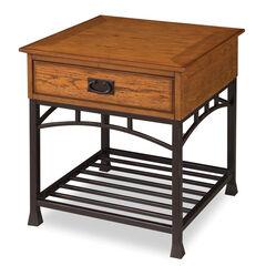 Modern Craftsman End Table,