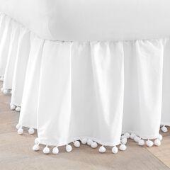 Pompom Bedskirt,