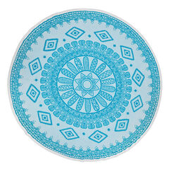 Mandala Round Beach Towel,