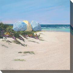 Beach Umbrellas Outdoor Wall Art,