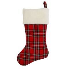 Plaid Stocking,