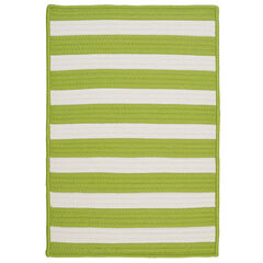 Bay Stripe Lime Rug,