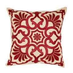 Josephine Embroidered Decor Pillow,