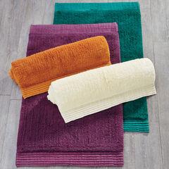 24' x 40' Cotton Pleated Bath Rug,