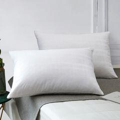 Minifeather® T400 Dobby Windowpane Pillow,