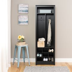 Space-Saving Entryway Organizer with Shoe Storag,