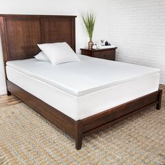 SensorPEDIC 2-Inch Prime Gel-Infused Memory Foam Mattress Topper,