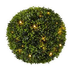 Pre-Lit Topiary Ball,