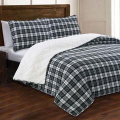 Estate Collection Berkshire Flannel Quilt Set,