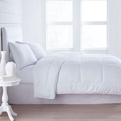 Luxe Sleep 300-TC Dobby Stripe Comforter,