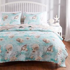 Ocean Turquoise Quilt Set,