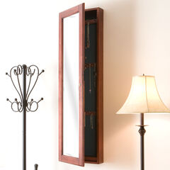 Wall-Mount Jewelry Mirror,
