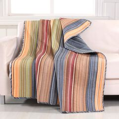 Greenland Home Fashions Katy Quilted Throw Blanket,