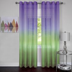 Rainbow Single Grommet Window Curtain Panel,