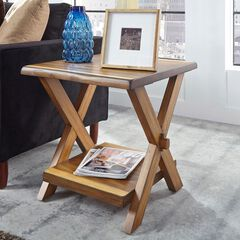 Forest Retreat End Table , WOOD