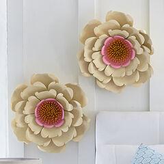 Wall Flower Decor,