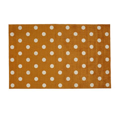 Large Polka Dance Rug , GOLD
