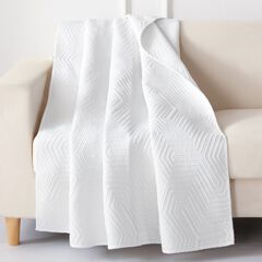Barefoot Bungalow Parker Quilted Throw Blanket,