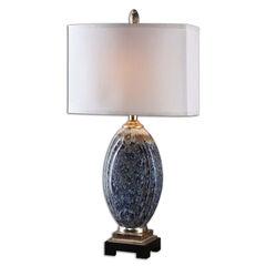 Blue Latah Lamp,