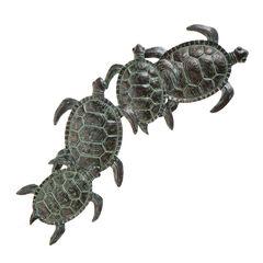 Sea Turtle Metal Wall Art,