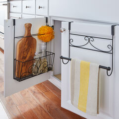 Inside Cabinet Over-the-Door Rack,