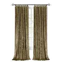 Harper Criss-Cross Window Curtain Panel - 50x63,