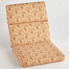 Universal Chair Cushion, LEISURE FRESCO CLAY